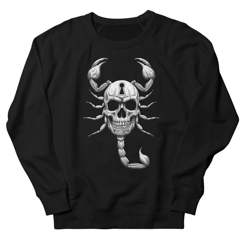Death Lock Men's French Terry Sweatshirt by inbrightestday's Artist Shop