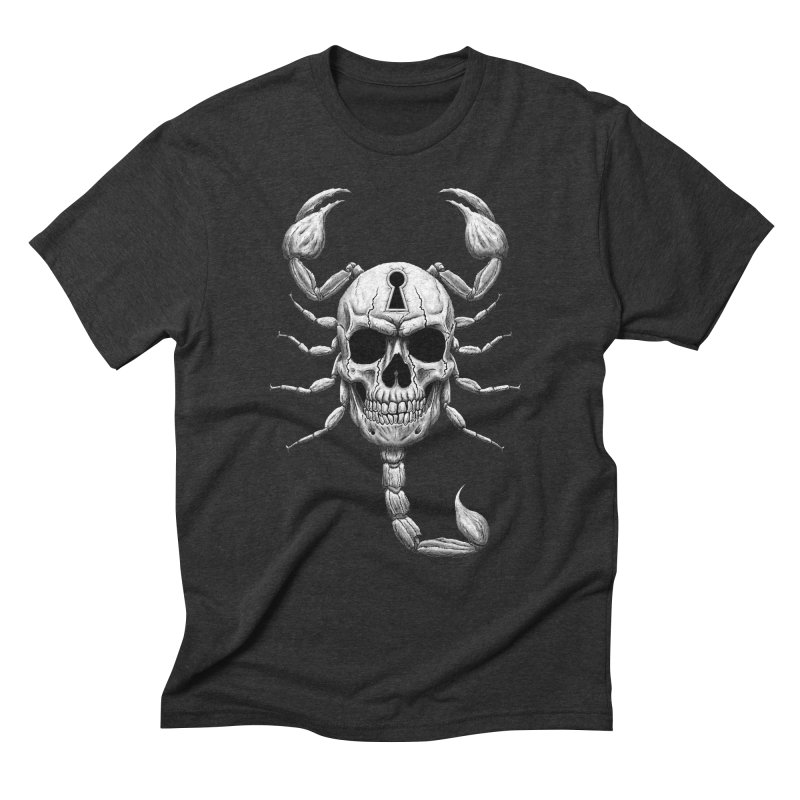 Death Lock Men's Triblend T-Shirt by inbrightestday's Artist Shop