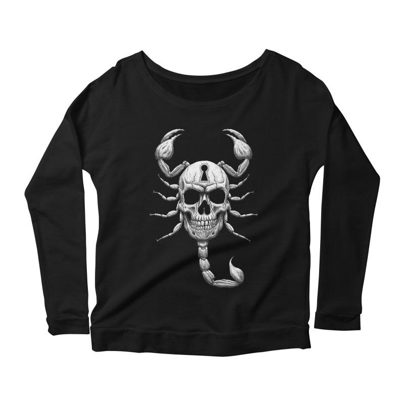Death Lock Women's Scoop Neck Longsleeve T-Shirt by inbrightestday's Artist Shop