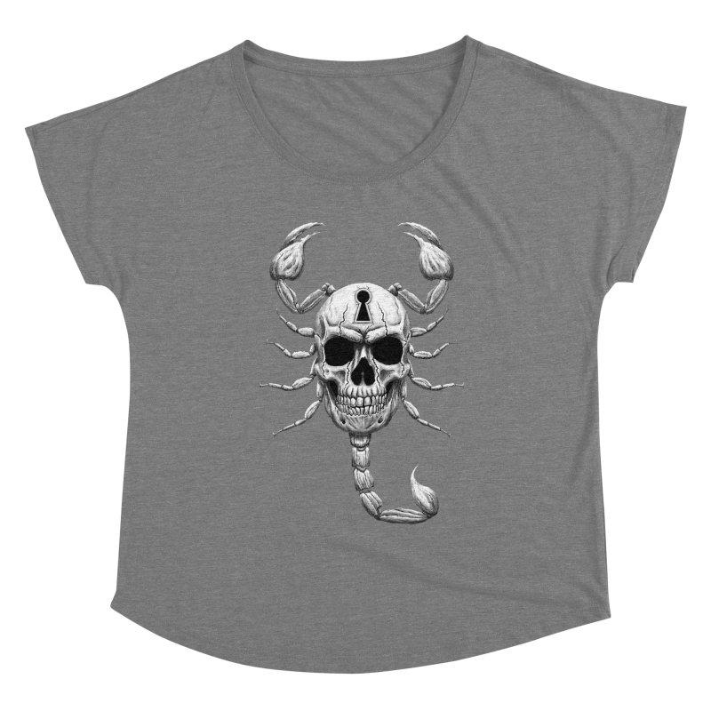 Death Lock Women's Scoop Neck by inbrightestday's Artist Shop