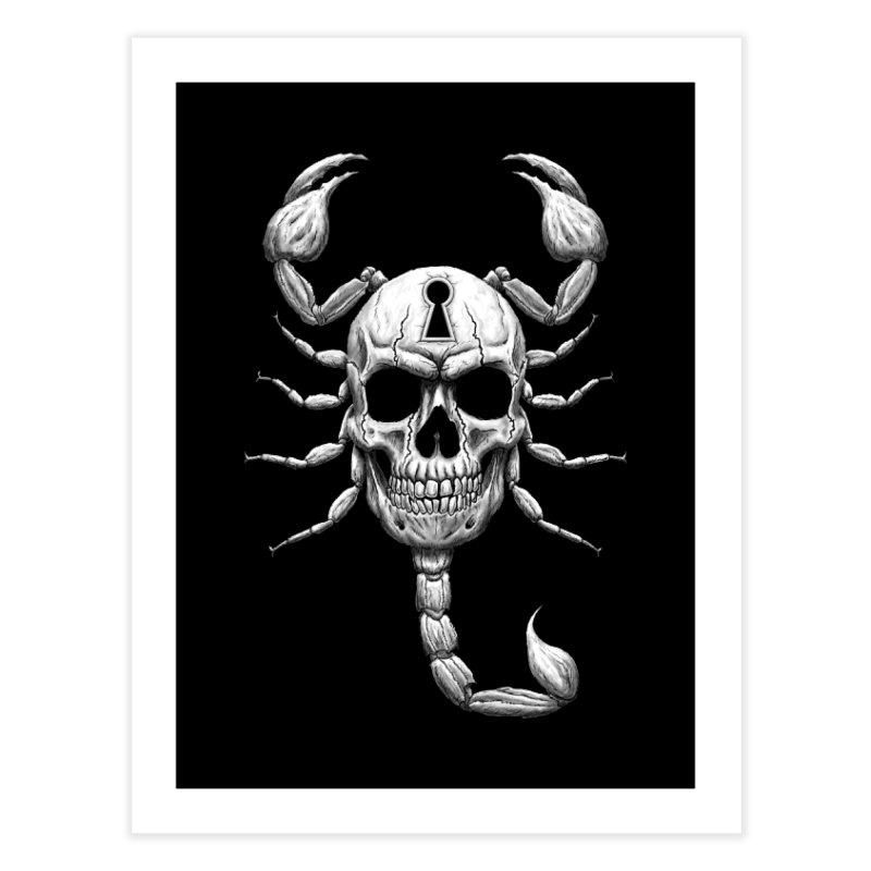 Death Lock Home Fine Art Print by inbrightestday's Artist Shop