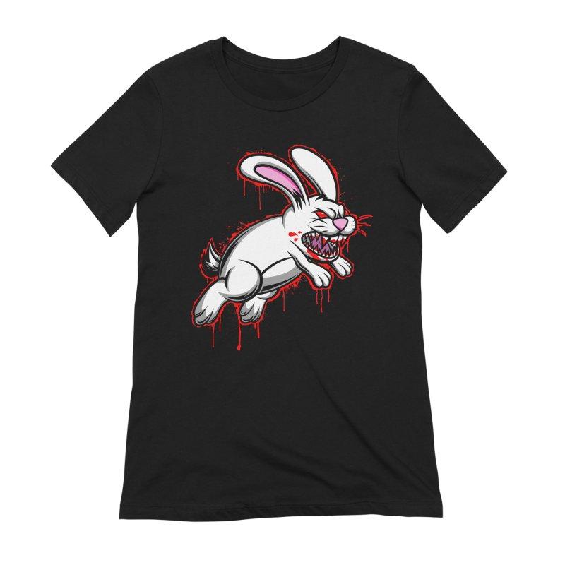 BLOODY RUN AWAY!!! Women's Extra Soft T-Shirt by inbrightestday's Artist Shop