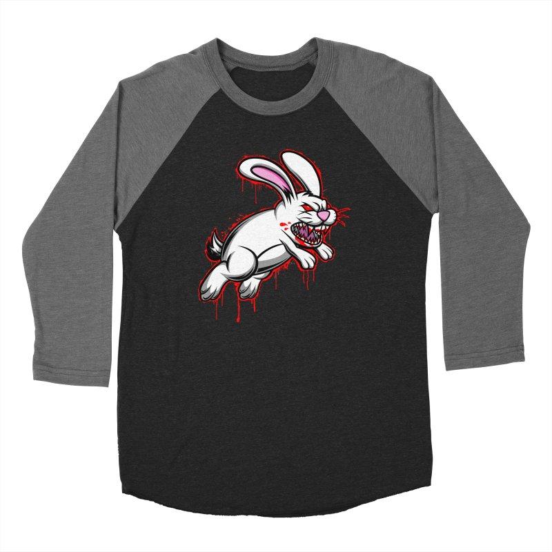 BLOODY RUN AWAY!!! Women's Baseball Triblend Longsleeve T-Shirt by inbrightestday's Artist Shop