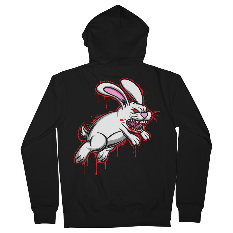BLOODY RUN AWAY!!! Women's French Terry Zip-Up Hoody by inbrightestday's Artist Shop