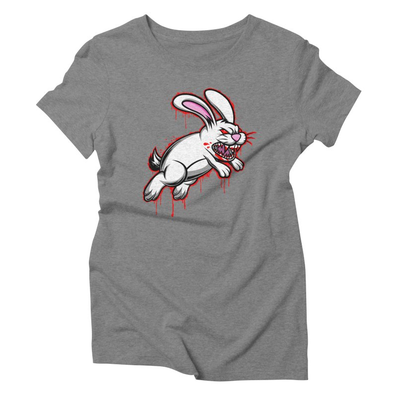 BLOODY RUN AWAY!!! Women's Triblend T-Shirt by inbrightestday's Artist Shop