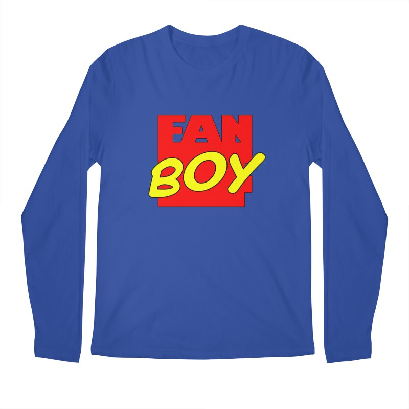 Fanboy Men's Longsleeve T-Shirt by inbrightestday's Artist Shop
