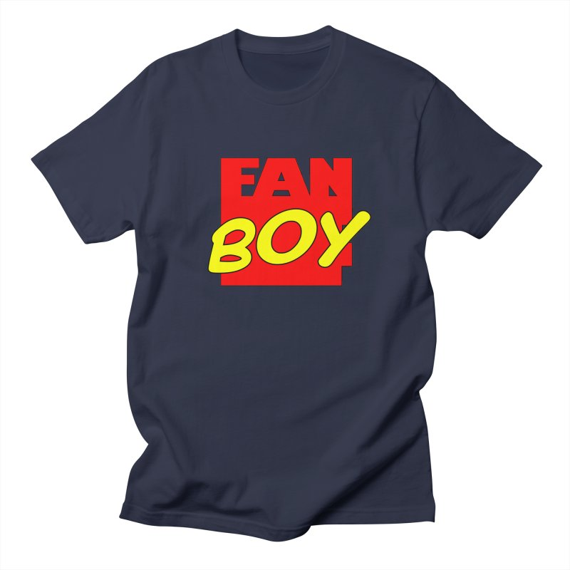 Fanboy Men's T-shirt by inbrightestday's Artist Shop