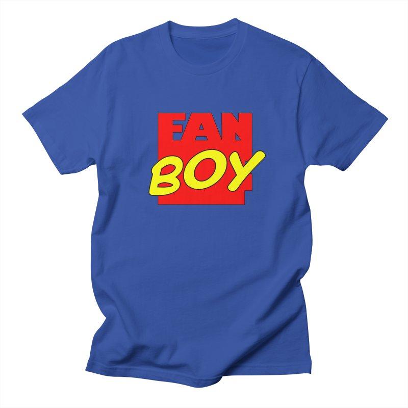 Fanboy Men's T-Shirt by inbrightestday's Artist Shop