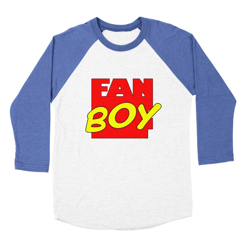 Fanboy Men's Baseball Triblend T-Shirt by inbrightestday's Artist Shop