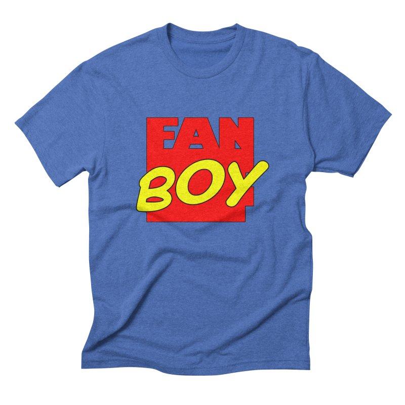 Fanboy Men's Triblend T-shirt by inbrightestday's Artist Shop