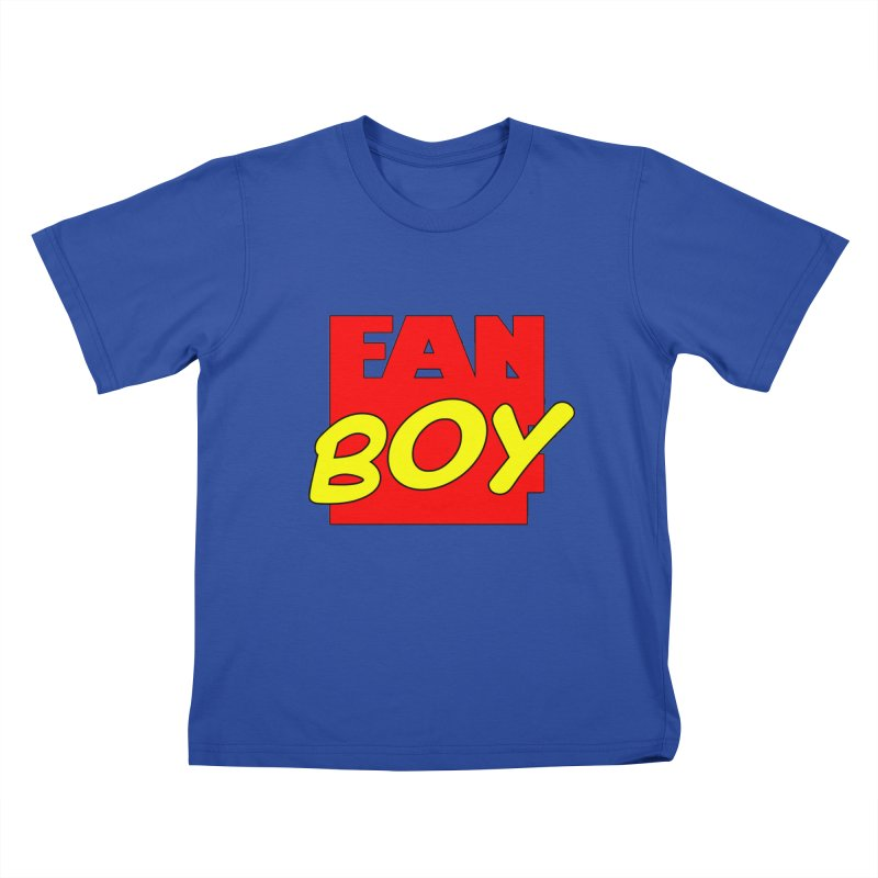 Fanboy Kids T-shirt by inbrightestday's Artist Shop