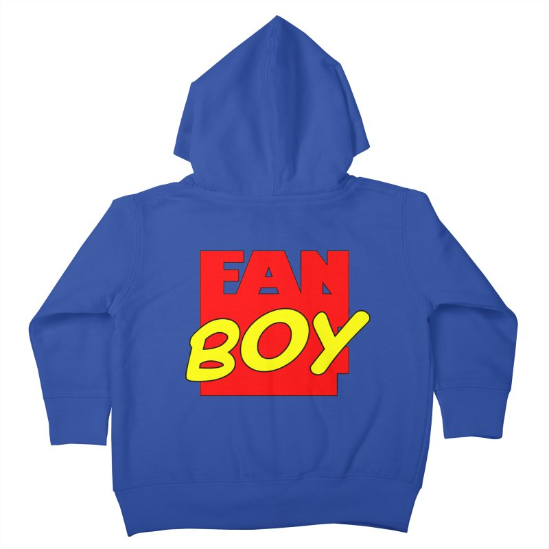 Fanboy Kids Toddler Zip-Up Hoody by inbrightestday's Artist Shop