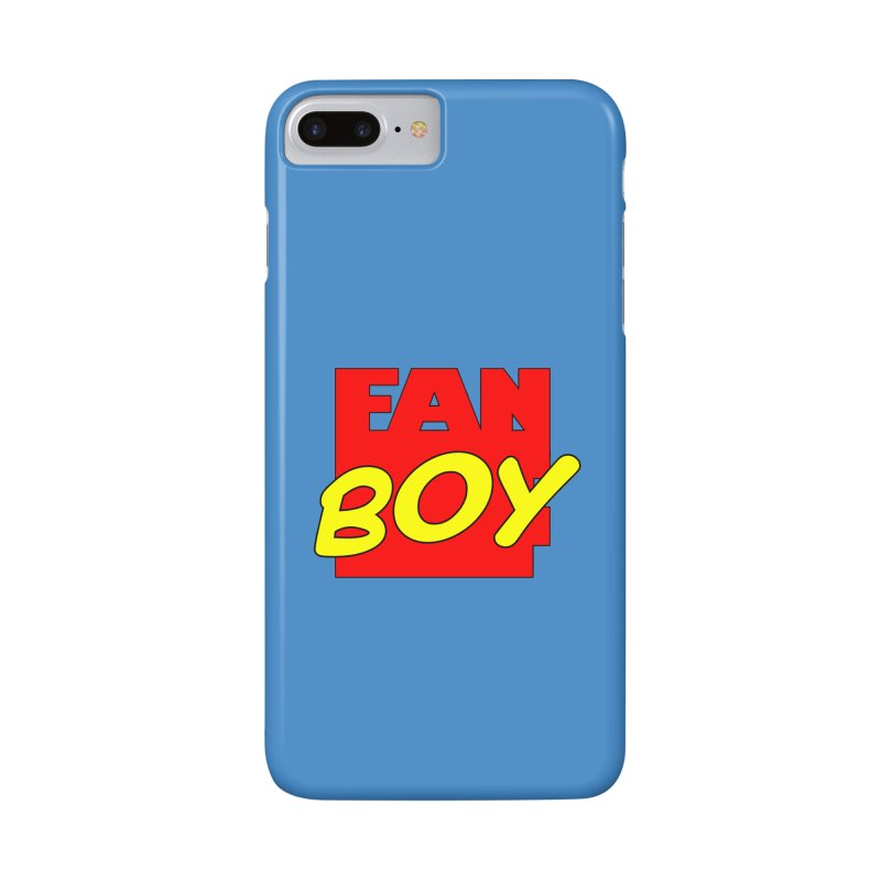 Fanboy Accessories Phone Case by inbrightestday's Artist Shop