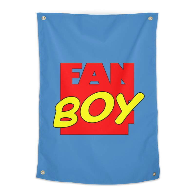 Fanboy Home Tapestry by inbrightestday's Artist Shop