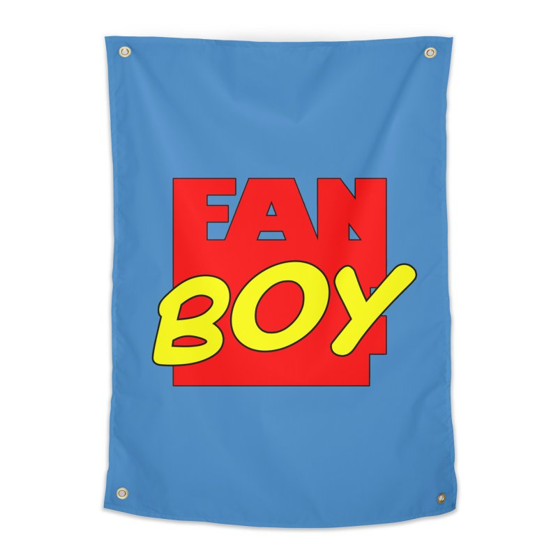 Fanboy Home Tapestry by inbrightestday's Artist Shop