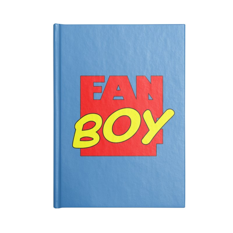 Fanboy Accessories Notebook by inbrightestday's Artist Shop