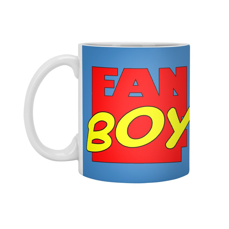 Fanboy Accessories Standard Mug by inbrightestday's Artist Shop