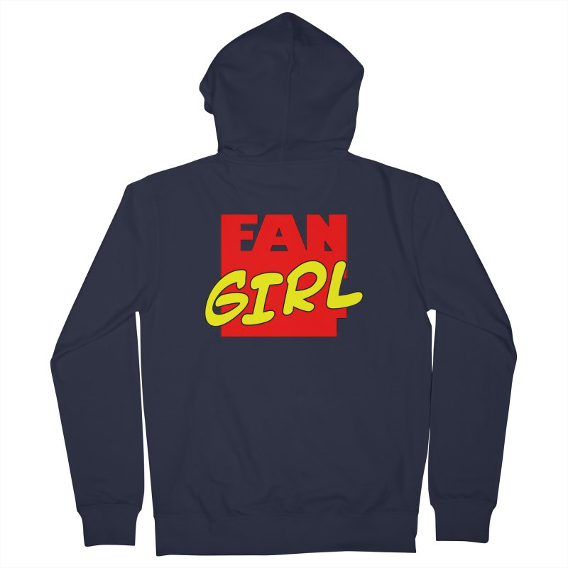 Fangirl Women's Zip-Up Hoody by inbrightestday's Artist Shop