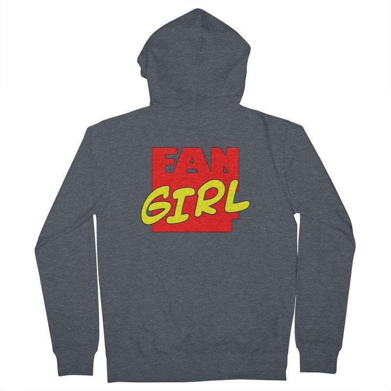 Fangirl Women's Zip-Up Hoody by inbrightestday's Artist Shop