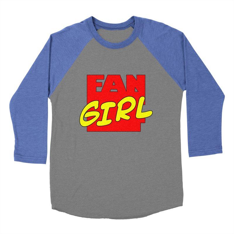 Fangirl Women's Baseball Triblend T-Shirt by inbrightestday's Artist Shop
