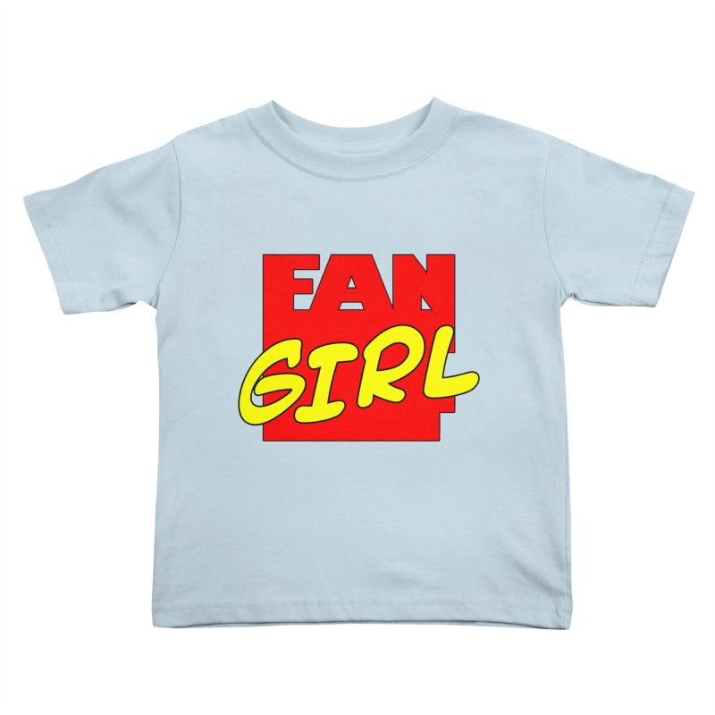 Fangirl Kids Toddler T-Shirt by inbrightestday's Artist Shop