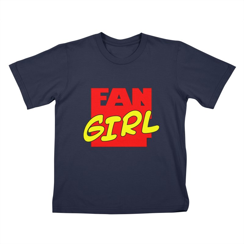 Fangirl Kids T-shirt by inbrightestday's Artist Shop
