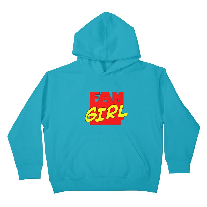 Fangirl Kids Pullover Hoody by inbrightestday's Artist Shop