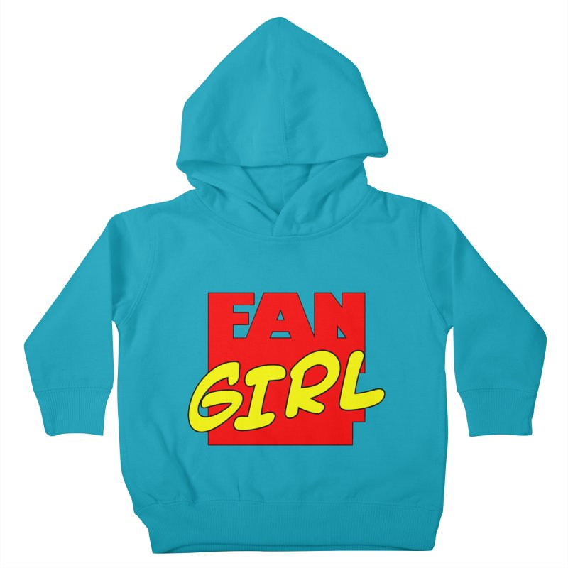 Fangirl Kids Toddler Pullover Hoody by inbrightestday's Artist Shop
