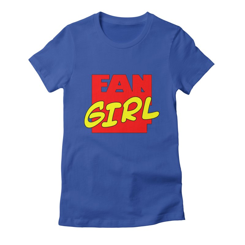 Fangirl Women's T-Shirt by inbrightestday's Artist Shop