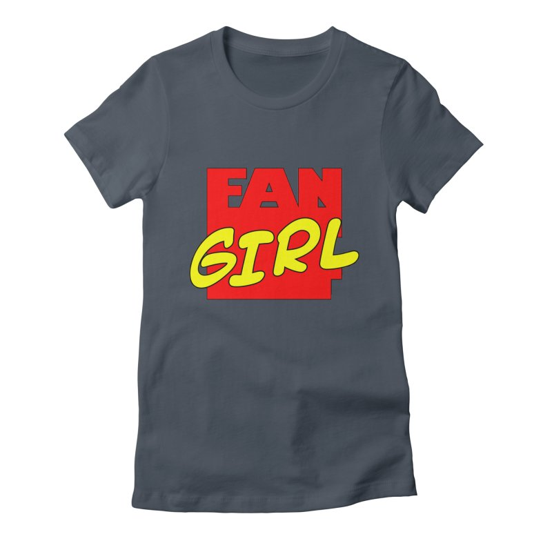 Fangirl Women's Fitted T-Shirt by inbrightestday's Artist Shop