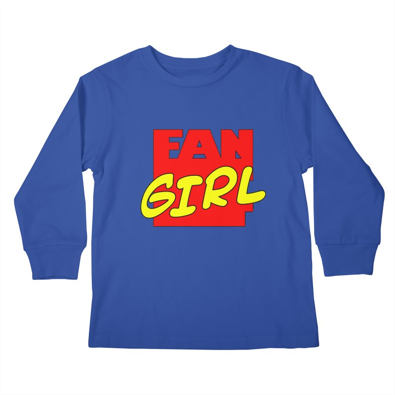 Fangirl Kids Longsleeve T-Shirt by inbrightestday's Artist Shop