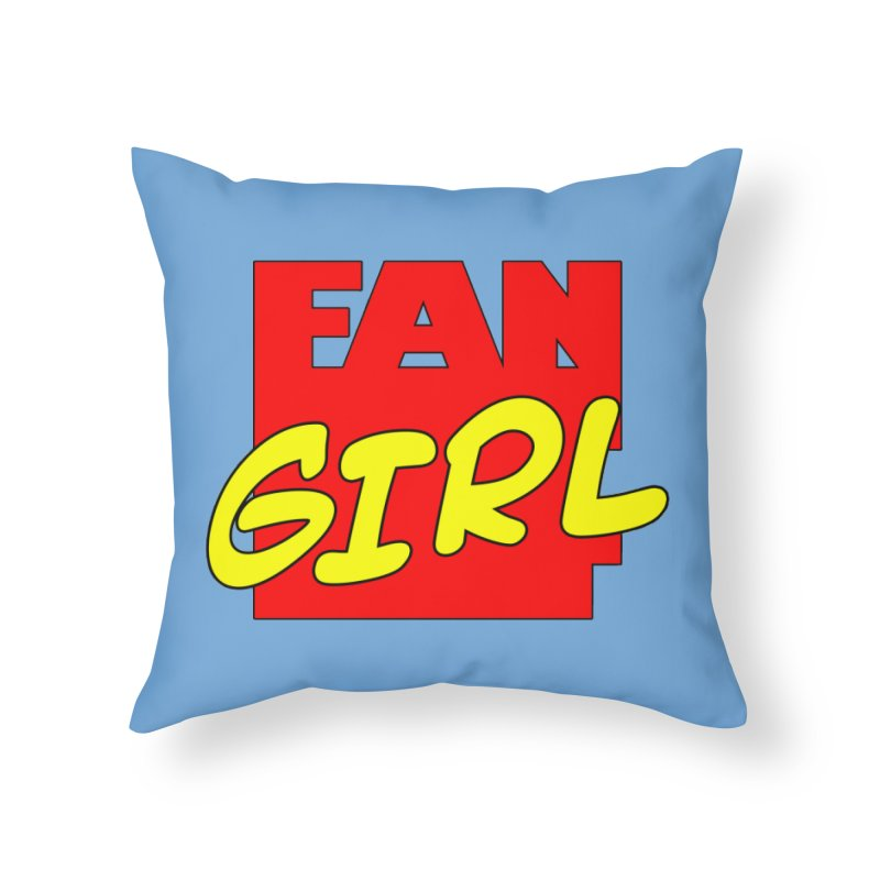Fangirl Home Throw Pillow by inbrightestday's Artist Shop