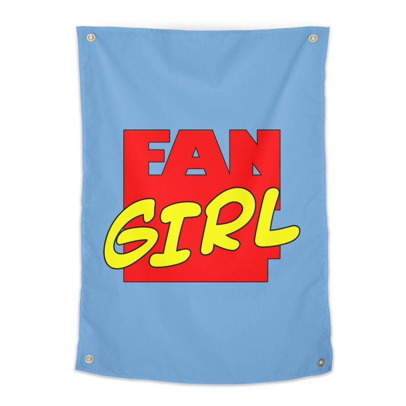 Fangirl Home Tapestry by inbrightestday's Artist Shop