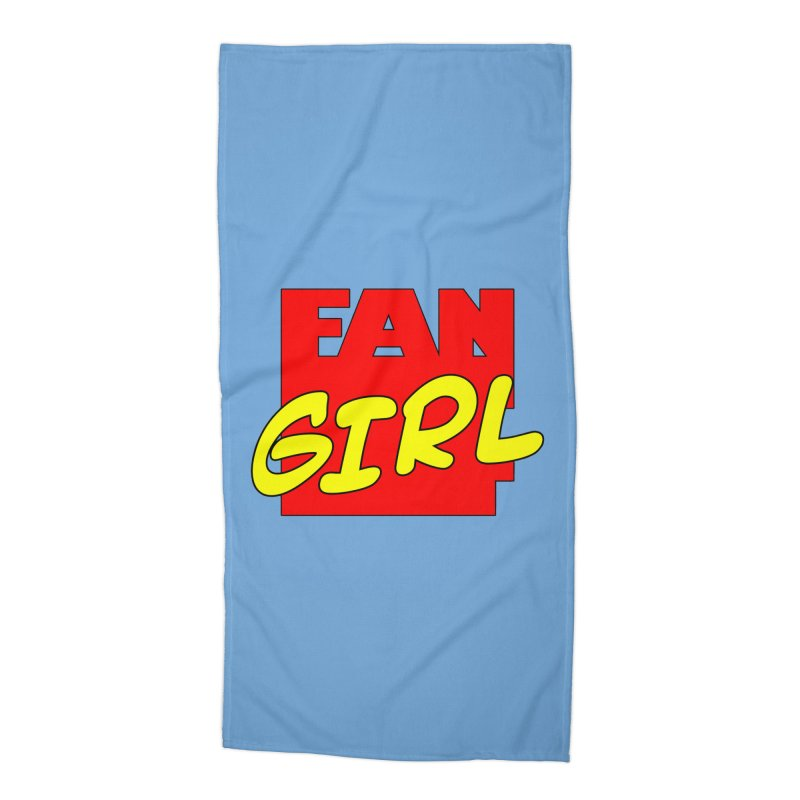 Fangirl Accessories Beach Towel by inbrightestday's Artist Shop