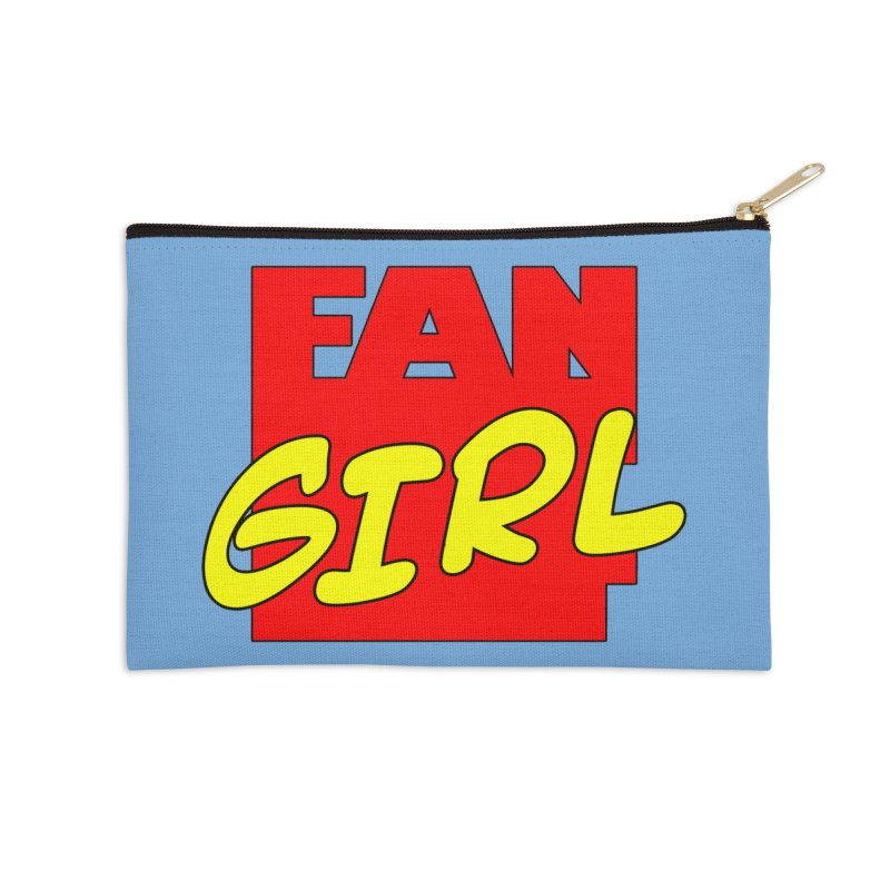 Fangirl Accessories Zip Pouch by inbrightestday's Artist Shop