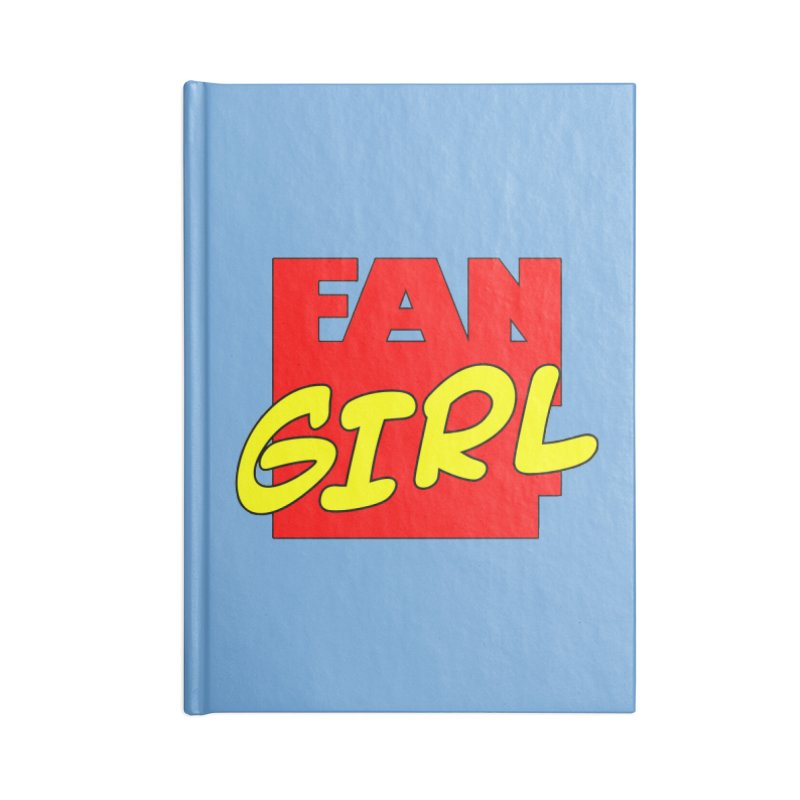 Fangirl Accessories Notebook by inbrightestday's Artist Shop