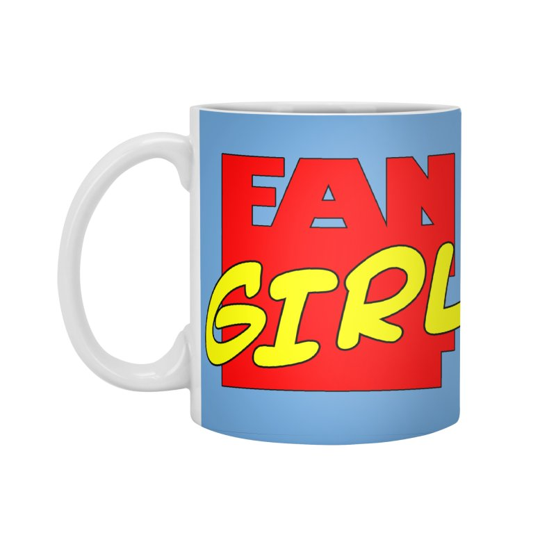 Fangirl Accessories Standard Mug by inbrightestday's Artist Shop