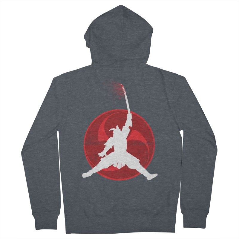 Slamurai 2 Men's Zip-Up Hoody by inbrightestday's Artist Shop