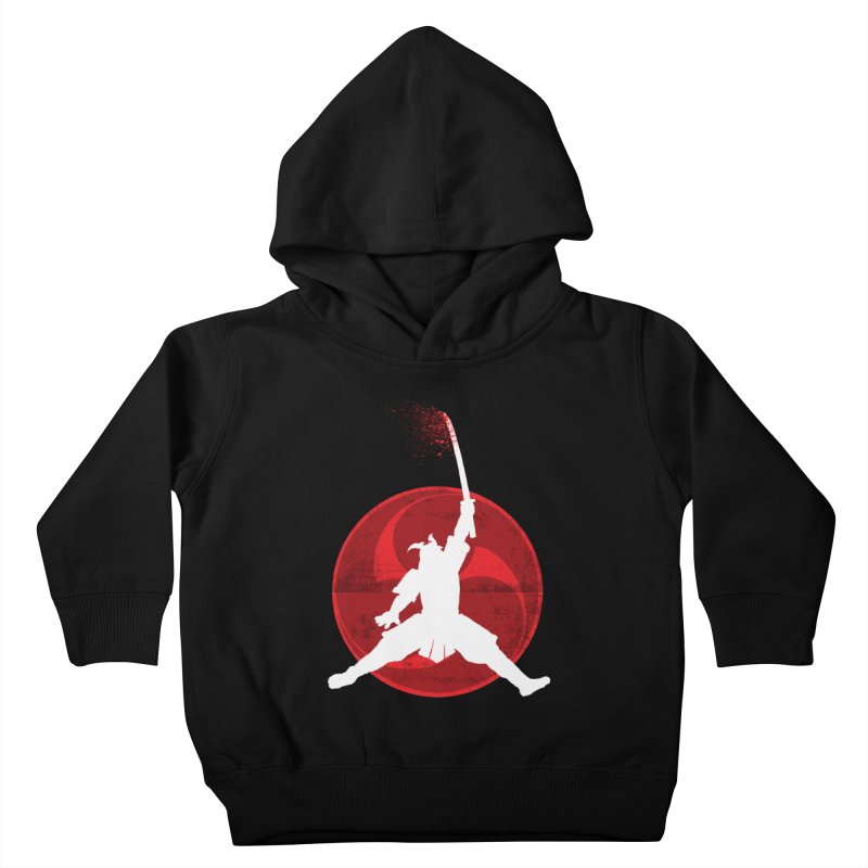 Slamurai 2 Kids Toddler Pullover Hoody by inbrightestday's Artist Shop