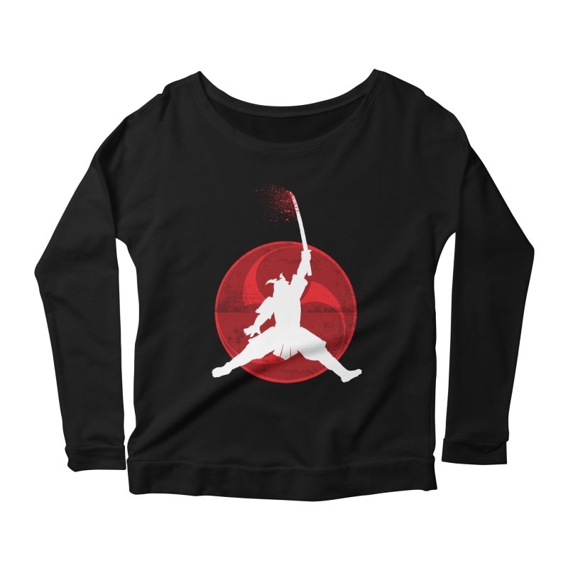 Slamurai 2 Women's Longsleeve Scoopneck  by inbrightestday's Artist Shop