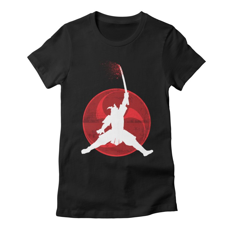 Slamurai 2 Women's Fitted T-Shirt by inbrightestday's Artist Shop