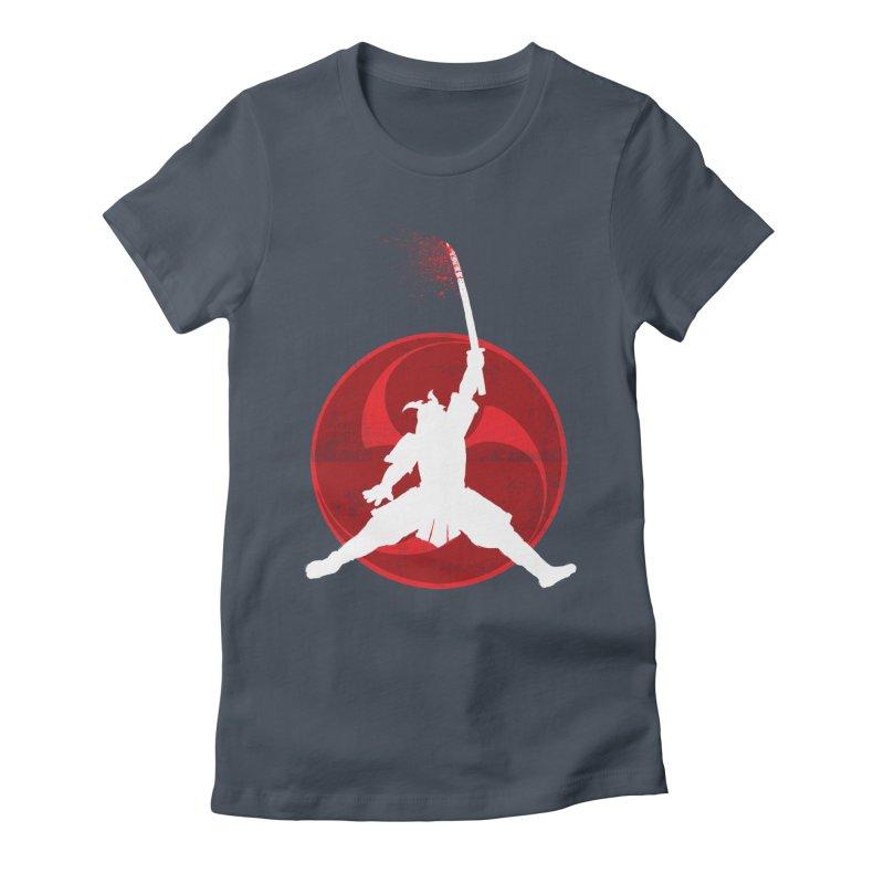 Slamurai 2 Women's Fitted T-Shirt by inbrightestday's Artist Shop