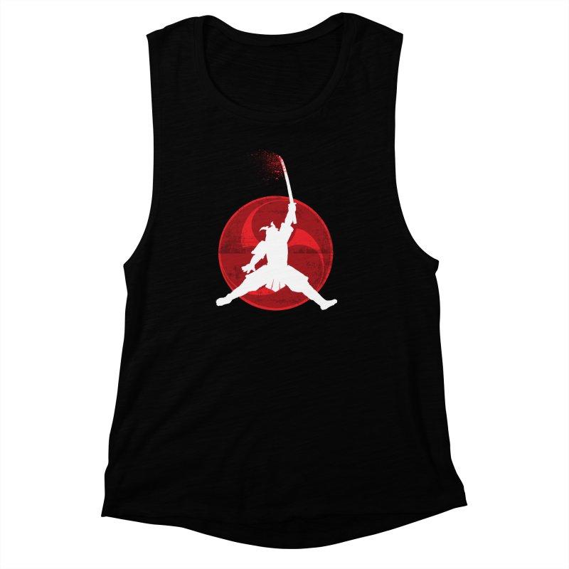 Slamurai 2 Women's Muscle Tank by inbrightestday's Artist Shop