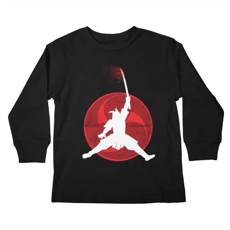 Slamurai 2 Kids Longsleeve T-Shirt by inbrightestday's Artist Shop