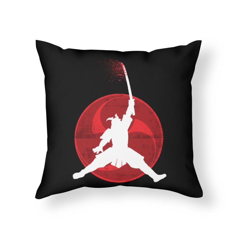 Slamurai 2 Home Throw Pillow by inbrightestday's Artist Shop