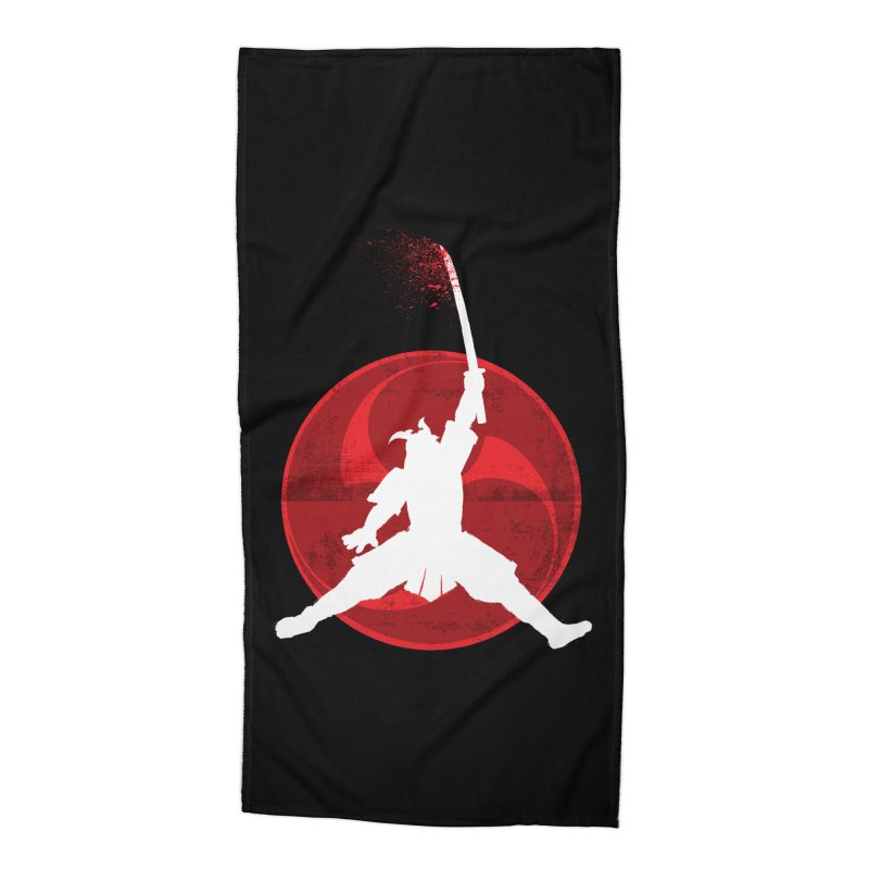 Slamurai 2 Accessories Beach Towel by inbrightestday's Artist Shop