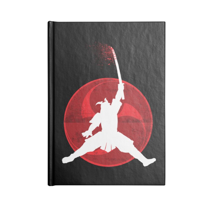 Slamurai 2 Accessories Lined Journal Notebook by inbrightestday's Artist Shop