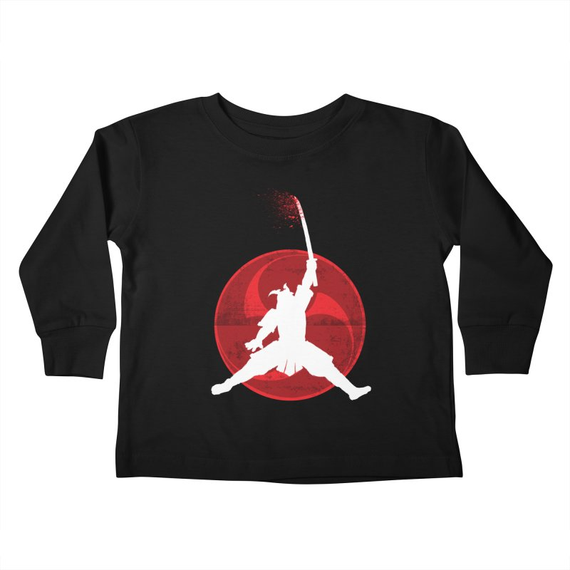 Slamurai 2 Kids Toddler Longsleeve T-Shirt by inbrightestday's Artist Shop