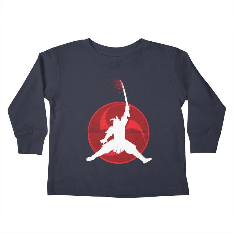 Slamurai 2 Kids Toddler Longsleeve T-Shirt by inbrightestday's Artist Shop