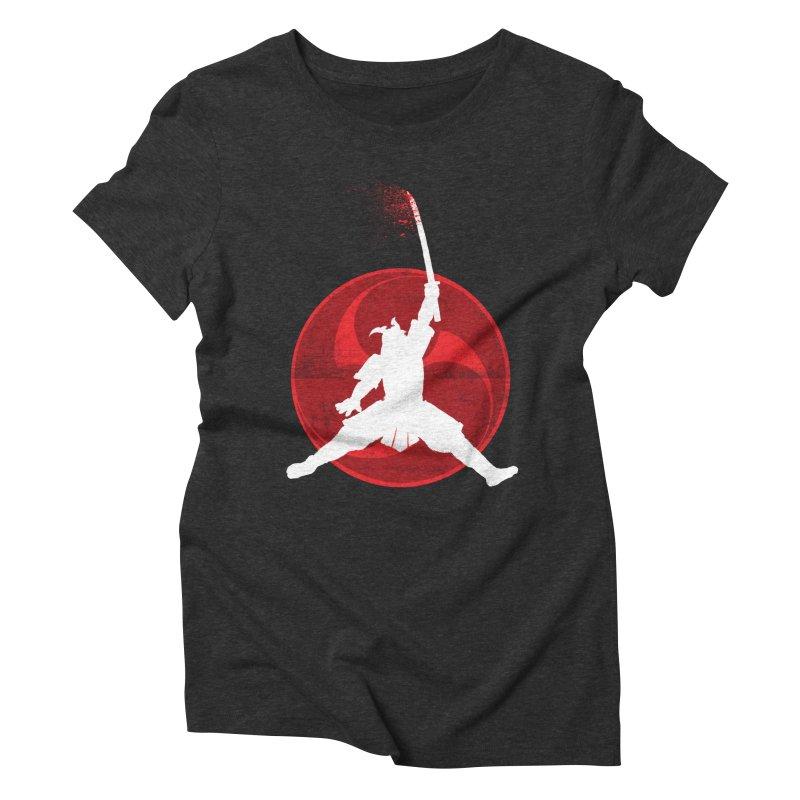 Slamurai 2 Women's Triblend T-Shirt by inbrightestday's Artist Shop